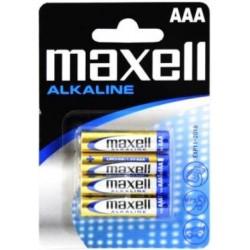 Maxell Alkaline Battery AAA LR03 4pcs BLISTER