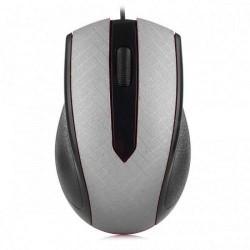 USB Optical Mouse YR-3009 Black / Silver