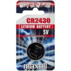 Maxell Battery CR2430 1PC BLISTER JAPAN