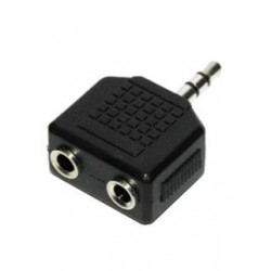 Audio P202 PLUG 3.5mm Male to 2x 3.5mm Female - CA511
