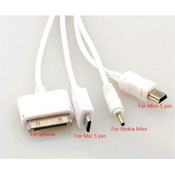 USB 5 in 1 Universal Charging Cable