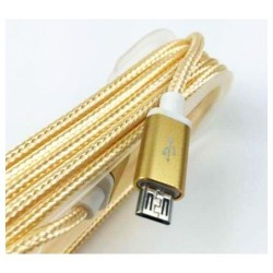 USB Micro 5p Cable for Android 1m Gold plated High-Speed