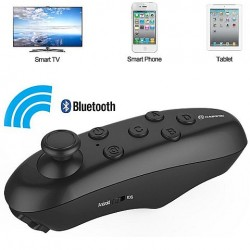 Wireless Android Gamepad Bluetooth Mouse VR Box Remote Control Black