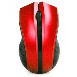 Wireless Mouse 2.4GHz YR-2815 Ergonomic Red