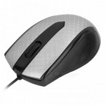 USB Optical Mouse YR-3009 Black / Silver