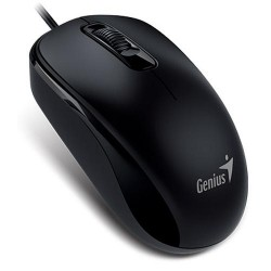Genius Mouse DX-110 Optical Wired PS2 Calm Black