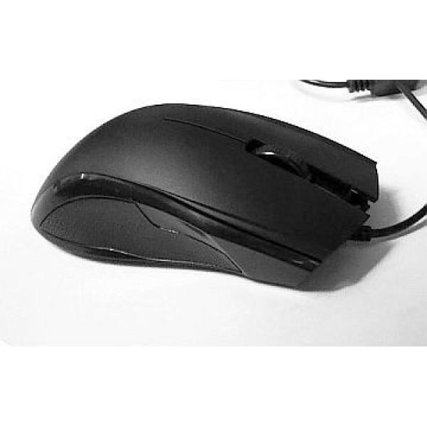 Premium Optical Mouse USB Black Standard size