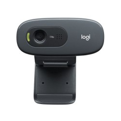 Logitech C270 HD Webcam 720p Video with Built-in Mic