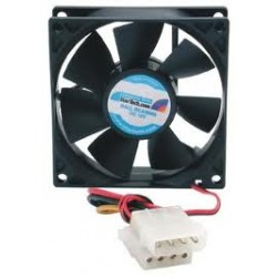 Computer Cooler 80mm 8cm 4 Pin Cooling Fan Silent