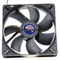 Computer Cooler 120mm 12cm 4 Pin Cooling Fan Silent