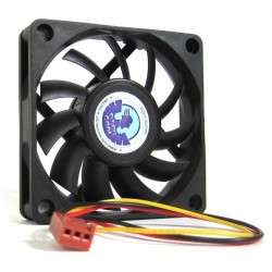 Computer Cooler 70mm 7cm 3 Pin Cooling Fan Silent