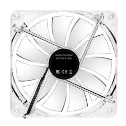 Computer Cooler 140mm 14cm 4 Pin M/F Cooling Fan Silent Transparent