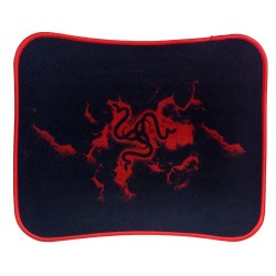 RAZER Gaming Mousepad Q6 Slik Gliding Nano Coating Honeycomb Locking Edge Red 300mm x 250mm x 3mm
