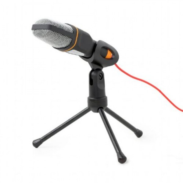Desktop Microphone MIC-D-03 with Tripod for YouTube Black