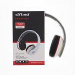 Ditmo DM-2700 Adjustable Foldable Stereo Powerful Bass Headphone White