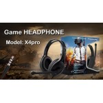 Gaming Headset X4Pro PUBG Limited Edition Headphones for Gamers