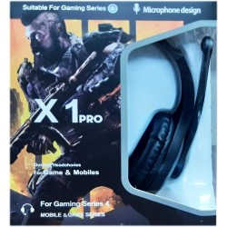 Gaming Headset X1 Pro Call of Duty Black Ops Limited Edition Headphones for Gamers