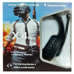 Gaming Headset X4 Pro PUBG Limited Edition Headphones for Gamers