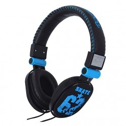 Headphone with Microphone HM-62 Blue