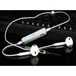 S6 Wireless Bluetooth Headset iPhone & Android Sport Earphone White