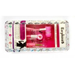 Earphone EH-188 Pink
