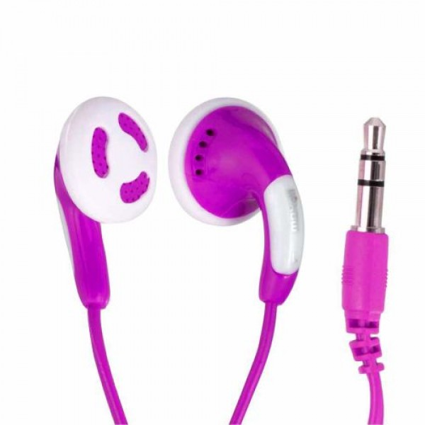 Maxell Earphones Stereo Colour Budz Purple 303364.02.CN