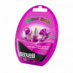 Maxell Earphones Stereo Colour Buds Purple