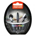 Maxell ColourBudz+Microphone Black