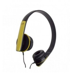 Maxell HP-Mic Headphones Yellow