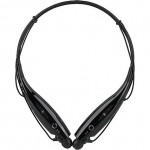 Bluetooth Stereo Headset HBS-730 Vibration Neckband Wireless iPhone & Android Black