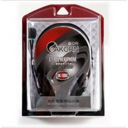 Headphone with microphone OK-1088