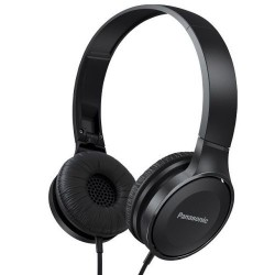 Panasonic Powerfull On-Ear Headphones Black RP-HF100 Neodymium
