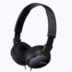 Sony MDR-ZX110 Stereo Headphones foldable Black