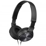 Sony MDR-ZX310 Stereo Headphones foldable Metallic Black