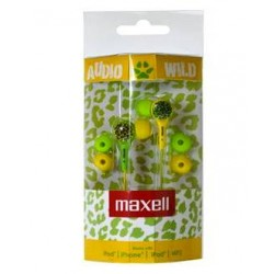 Maxell AUDIO WILD BUDS earphone Green/Yellow