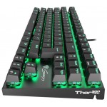 Gaming Keyboard Mechanical THOR 300 TKL LED Aluminium NKG-0945 Blue Switch