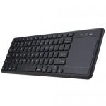 2.4GHz Wireless Keyboard Touchpad Multi-touch Ultra-slim for Android Smart TV Computers Laptop Desktop