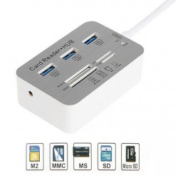 USB 3.1 COMBO 3x HUB USB 3.0 + Memory Card Reader all in one A102