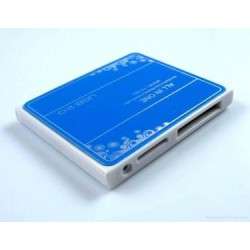 USB 2.0 Super Slim Multi Memory Card Reader 5-in-1