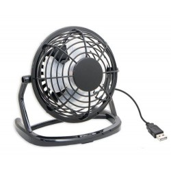 USB FAN 816F 4in Portable Air Cooler for Laptop Powerbank Office