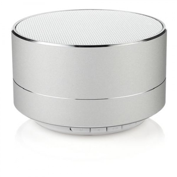 Bluetooth Speaker a10 Modern Aluminum Subwoofer Wireless Calls Handsfree MicroSD Card Music