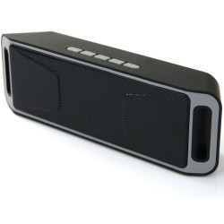 Bluetooth Speaker SC208 Mega Bass A2DP Portable Full Stereo Music Player Support MicroSD Card USB