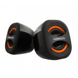 OMEGA SPEAKERS 2.0 OG-115o ORANGE 3W RMS USB