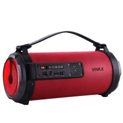 Vivax VIVAX VOX Bluetooth MP3 Speaker LED BS-101 Red