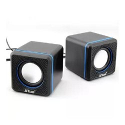 USB Speakers 2.0 Digital Stereo 6W JT-2600 Black
