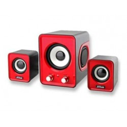 USB Speaker 2.1 Stereo Bass Sound JT-2802 Red