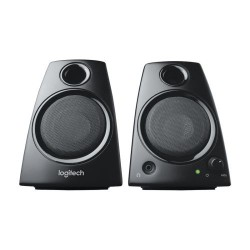 Logitech Z130 Stereo Speakers with Easy Controls & Deep Bass