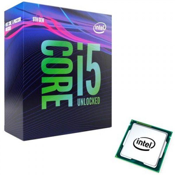 Intel Core i5-9600K 6-Core 3.7 GHz (4.6 GHz Turbo) LGA 1151 95W Unlocked Desktop Processor