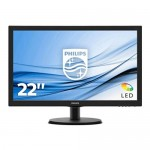 "Philips 22"" LCD LED Monitor with SmartControl 223V5LHSB2/00 HDMI VGA"