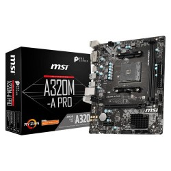 Motherboard MSI A320M-A PRO MAX RYZEN AM4 socket